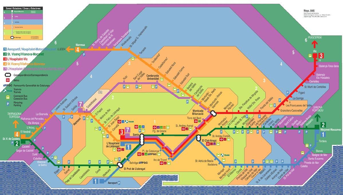 Metro I Barcelona Se Kort Billetter Priser Og Abningstider 2019